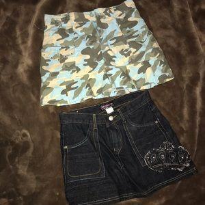 Jean skirts for girl
